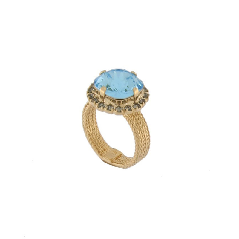 MH Ring - Bliss II -  Aquamarine