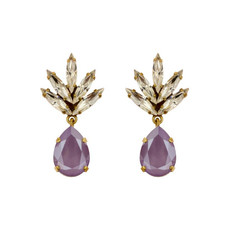 Earrings - Athena -  4 - Lavender
