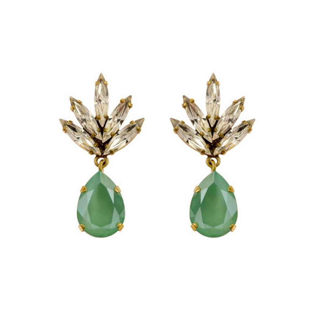 MH Earrings - Athena -  6 - Turquoise