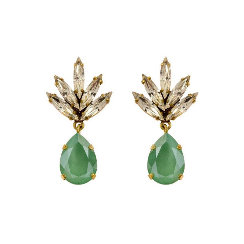 Caprice Decadent Earrings - Athena -  6 - Turquoise