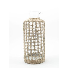 Glassware - Seagrass Cage -  Carafe - Large