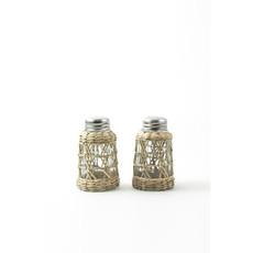MH Serveware - Seagrass Cage -  Salt & Pepper Set