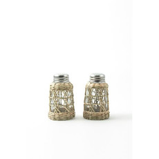 Serveware - Seagrass Cage -  Salt & Pepper Set