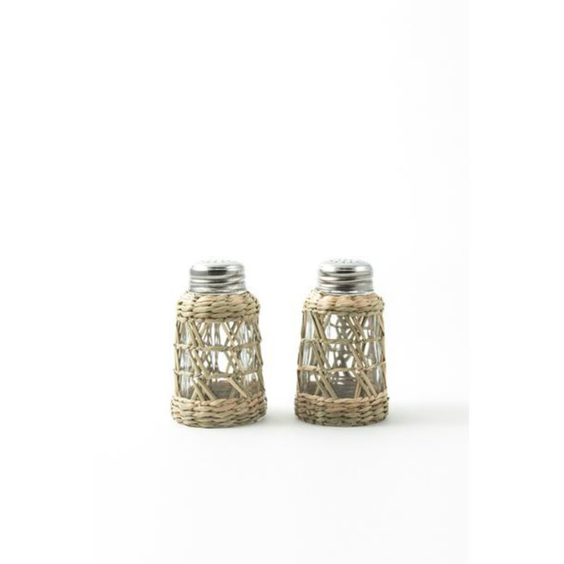 MH Serveware - Seagrass Cage -  Salt & Pepper Set