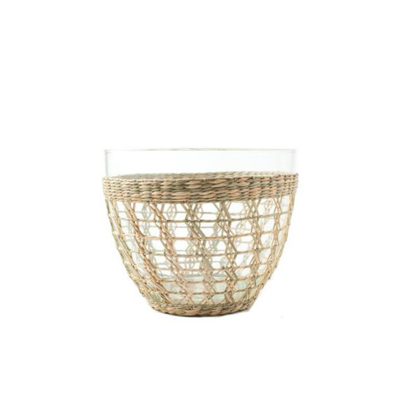 Kiss That Frog Serveware - Seagrass Cage - Salad Bowl -