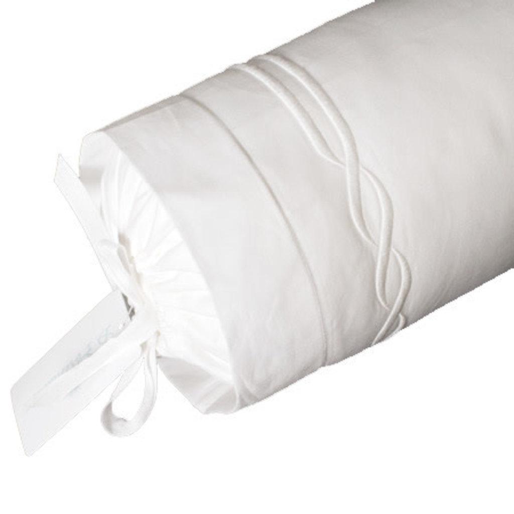 Tresse - White - Bedding -  Sham - Neckroll