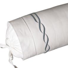 D. Porthault Tresse - Grey - Bedding -  Sham - Neckroll