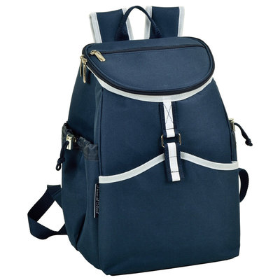 Cooler Backpack - 22 Can Capacity - Navy