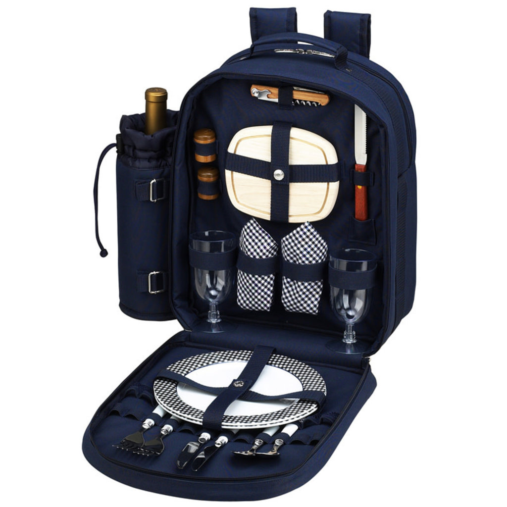 Picnic Backpack - Two Person - Navy