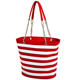 MH Cooler Tote - Fashion Tote Insulated - Red Stripe