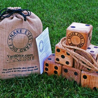 Yard Game - Snake Eyes Yard Dice - USA Version