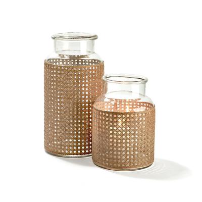 Jar - Cane Webbing -
