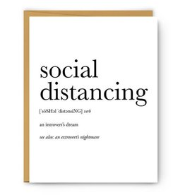MH Card - Definition - Social Distancing