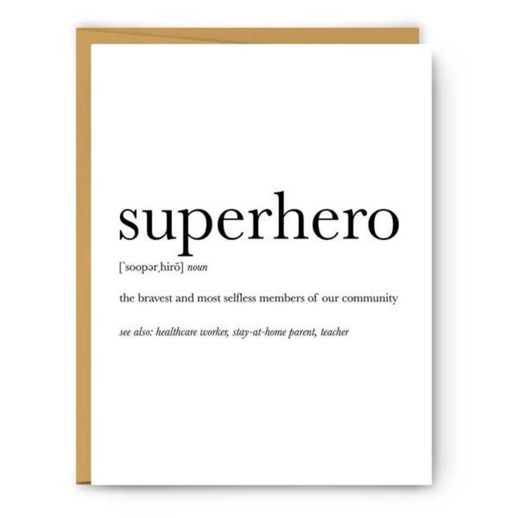 Card - Definition - Superhero