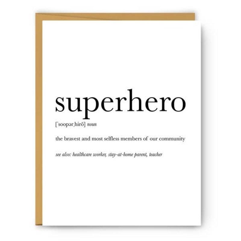 MH Card - Definition - Superhero
