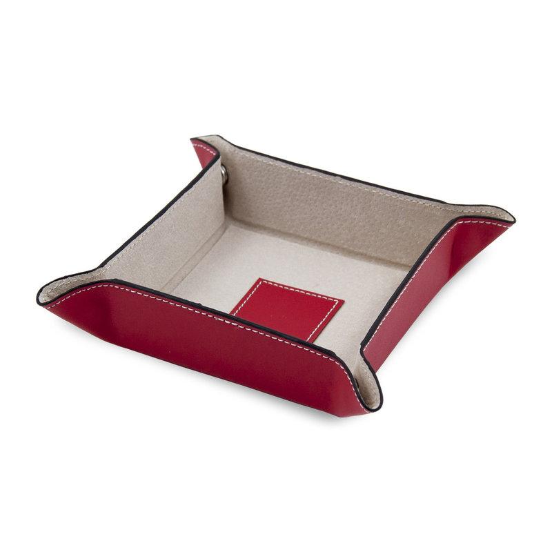 Bey-Berk International Leather Snap Valet - Colorful Assortment- Foilpress