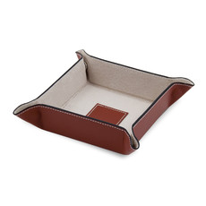 Tray - Leather Snap Valet - Classic Colors - Foilpress
