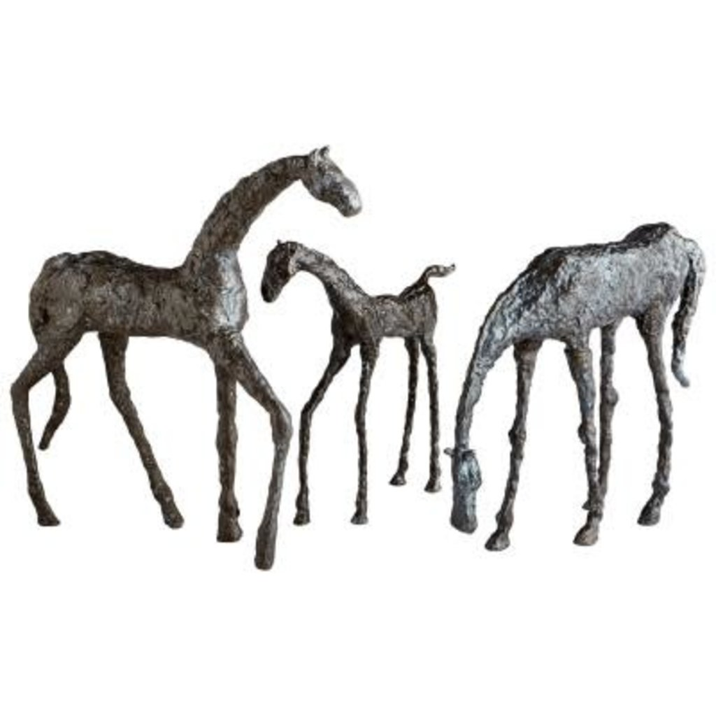 MH Sculpture - Filly - Warm Bronze Finish