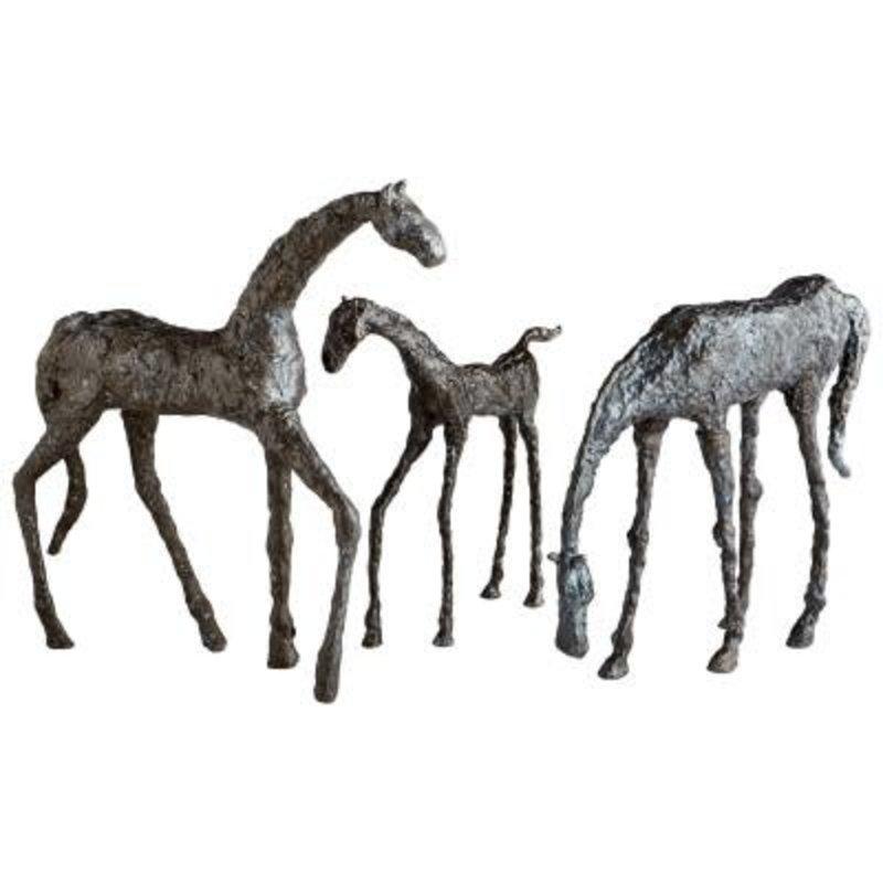 Sculpture - Filly - Warm Bronze Finish