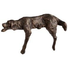 Sculpture - Lazy Dog - Bronze