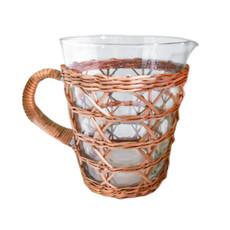 Glassware - Rattan Cage - Pitcher
