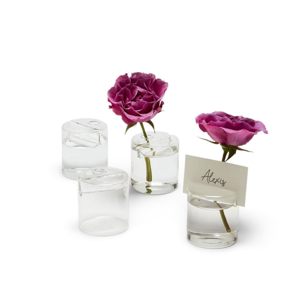 MH Place Card Holders - Bud Vase - Set of 4