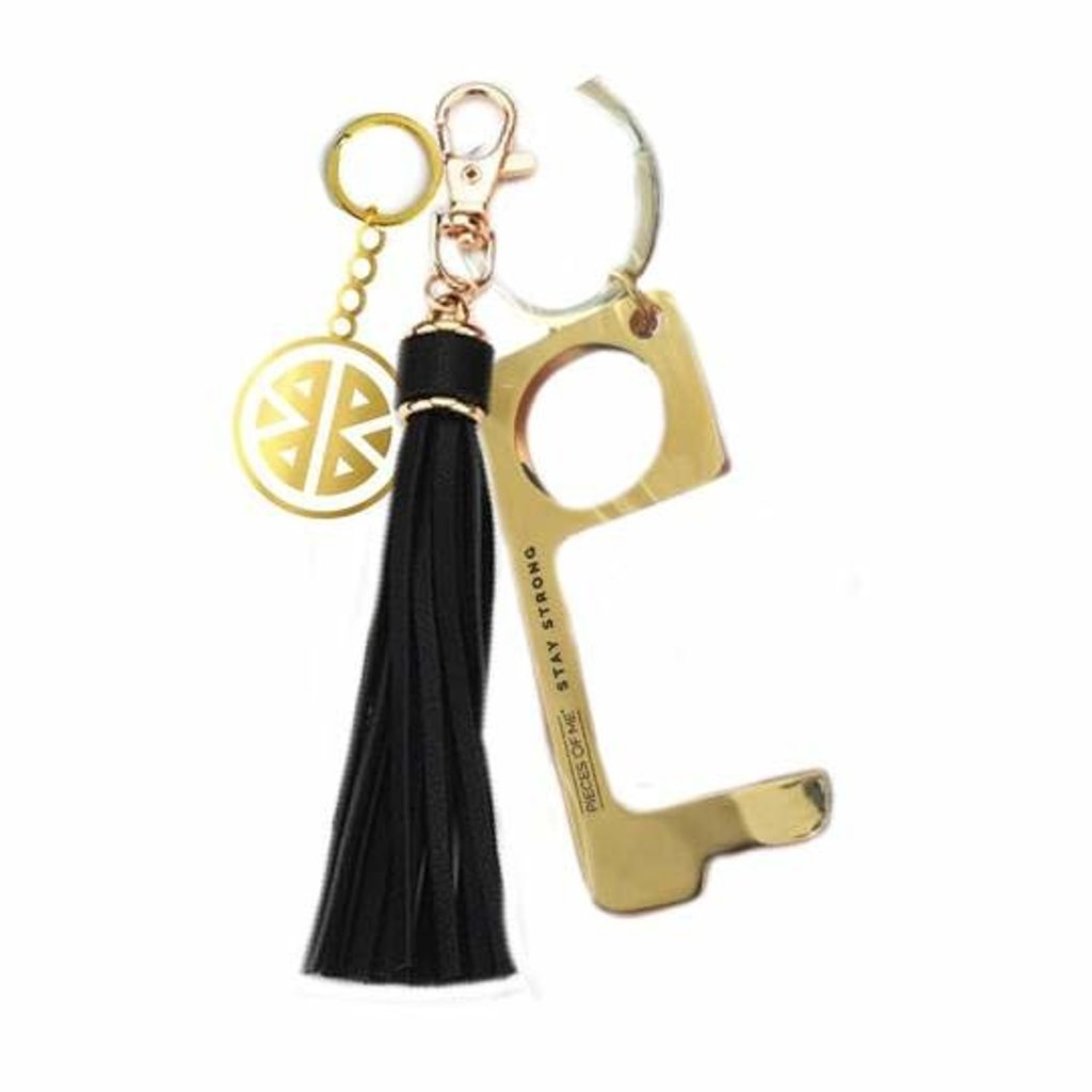 Key Ring - Don't Touch That! - Black