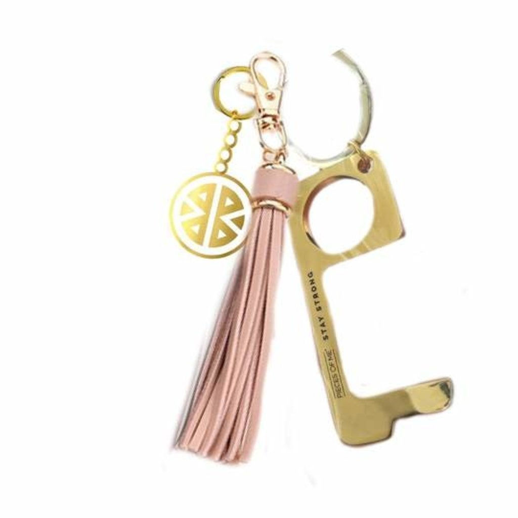MH Key Ring - Don't Touch That! - Blush
