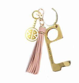 Pieces of Me Key Ring - Don't Touch That! - Blush