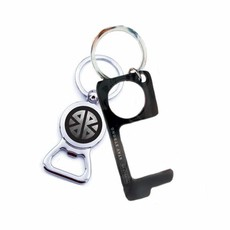 Key Ring - Don't Touch That! - Men's Black