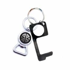 MH Key Ring - Don't Touch That! - Men's Black