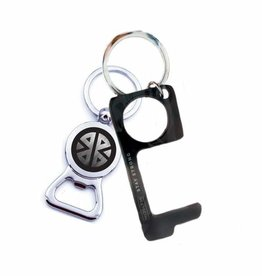 Pieces of Me Key Ring - Don't Touch That! - Men's Black