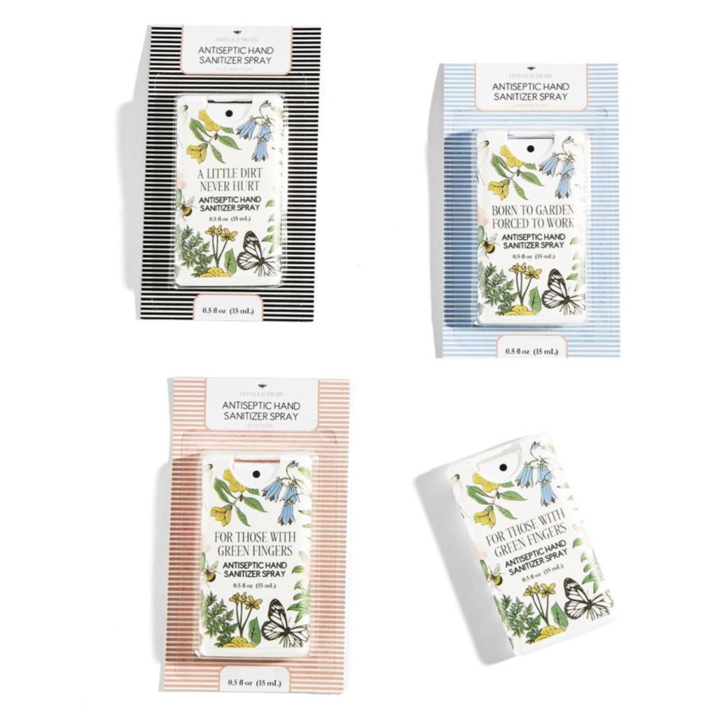 MH Hand Sanitizer - Garden Sayings -  .5 oz Purse Spray- Asstd
