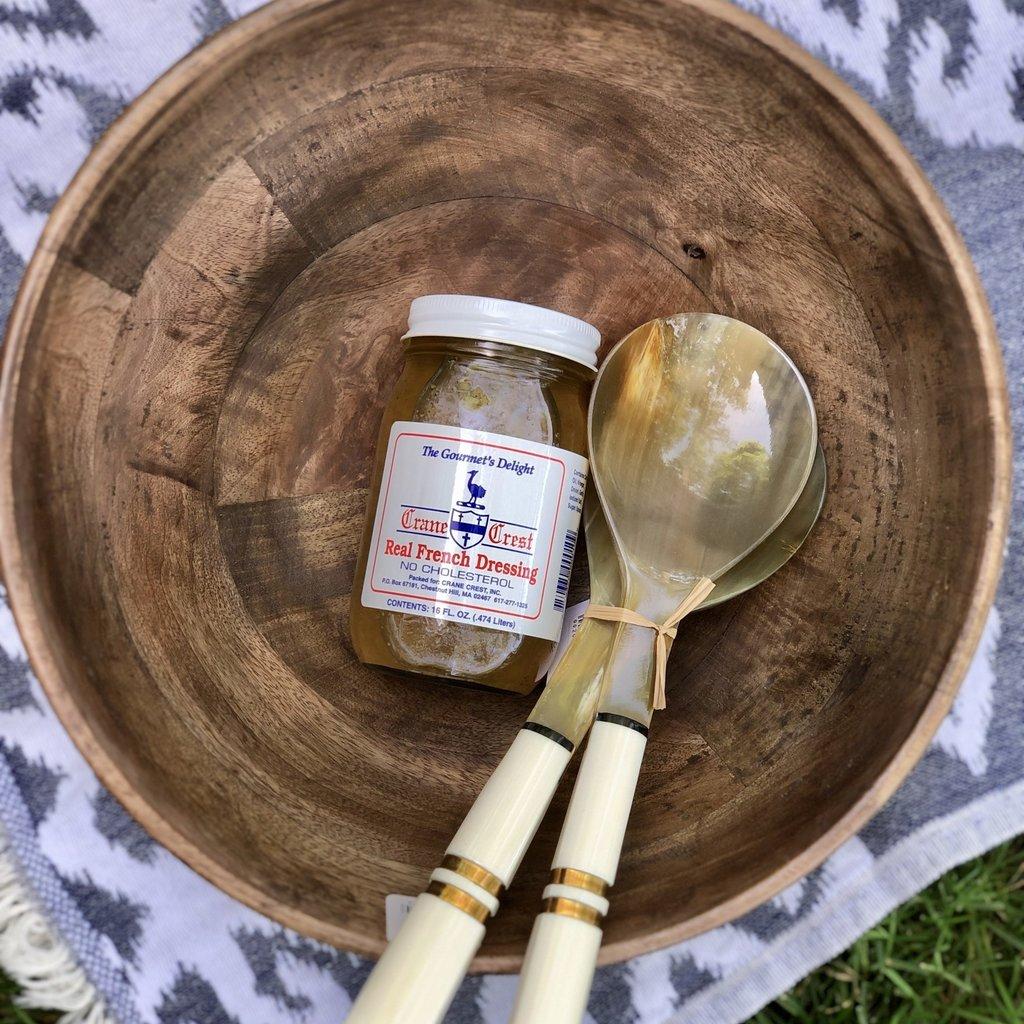 Zodax Mango Wood - Salad Bowl -