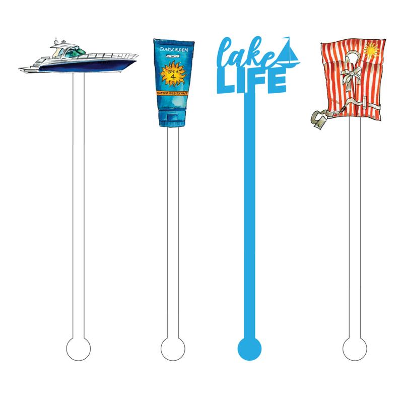 Acrylic Sticks Stir Sticks - More Summer Design Options!