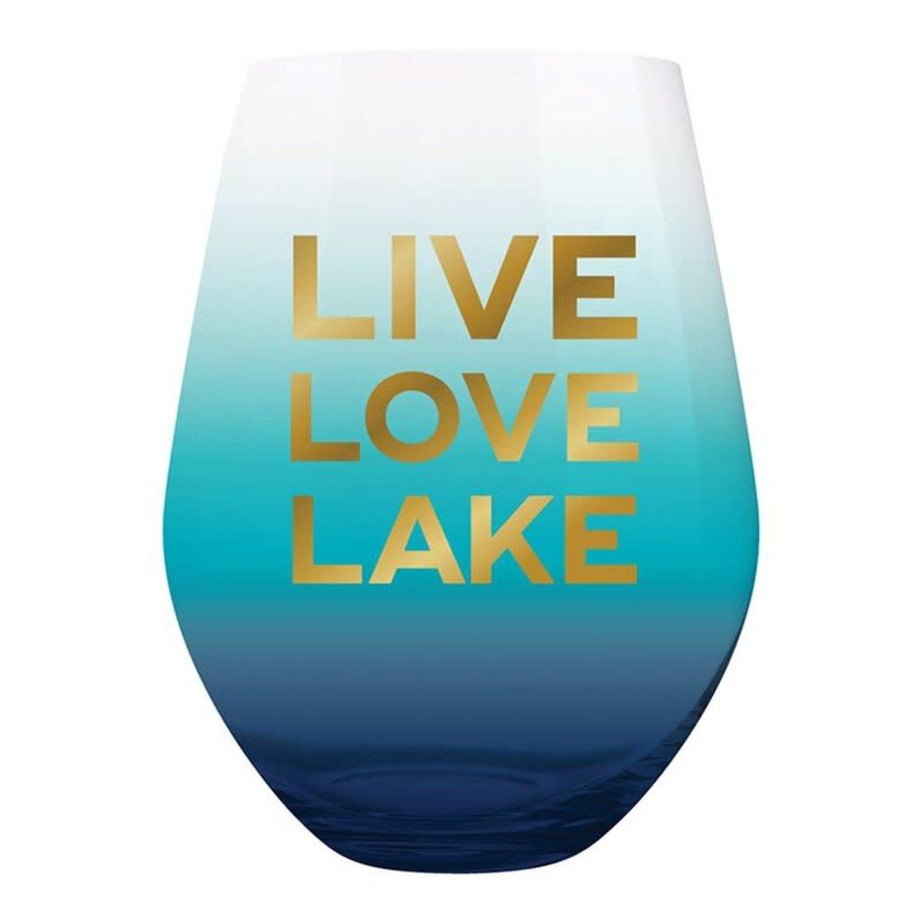Stemless Wine Glass- Assorted Designs