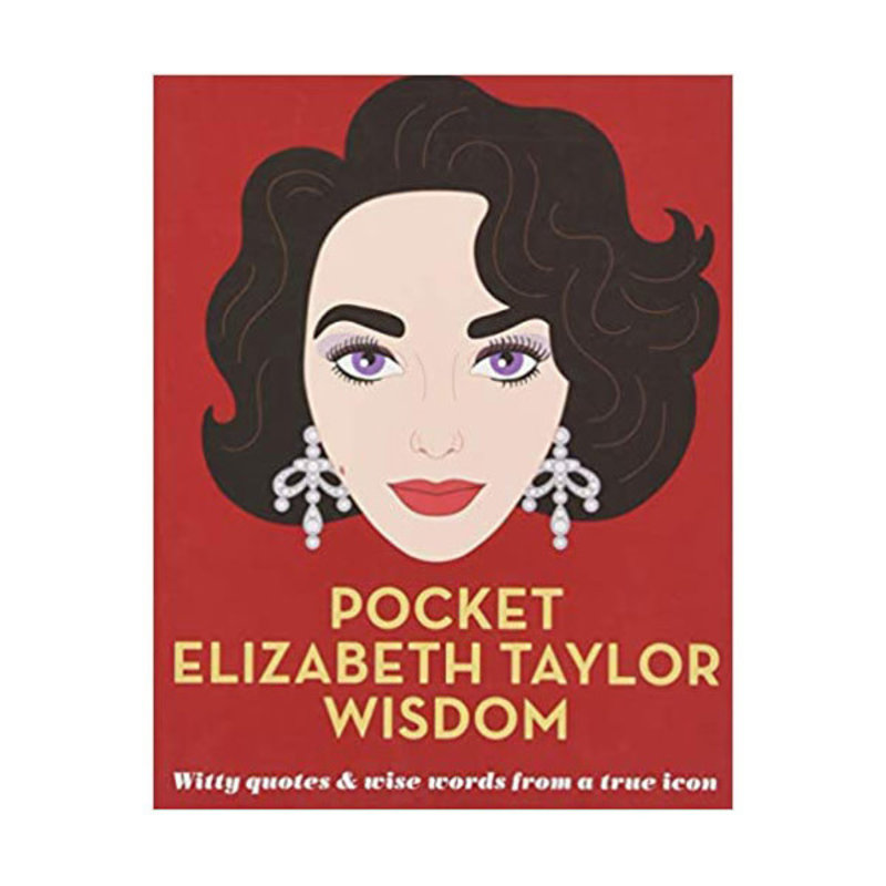 Abrams - HBG Book - Pocket Wisdom -  Elizabeth Taylor