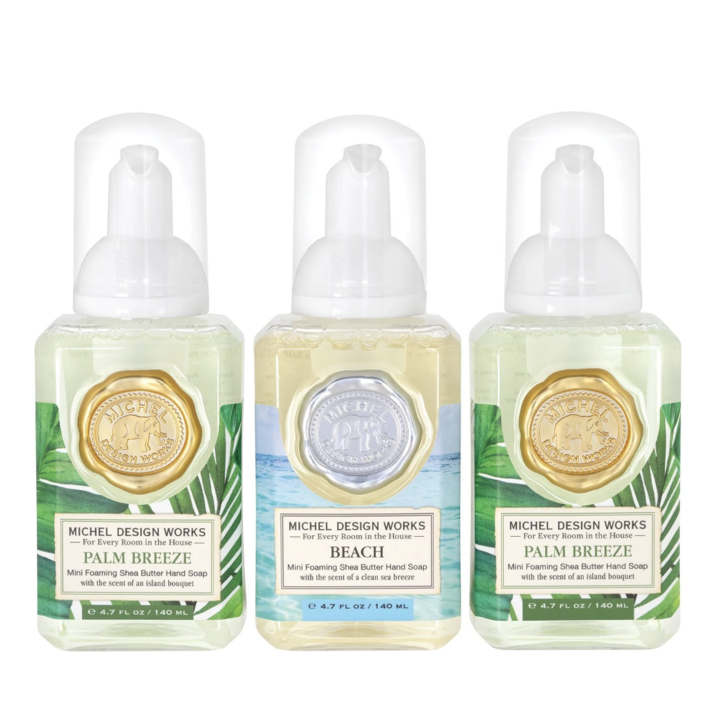 Set #4 - Mini Foaming Hand Soap - Beachy
