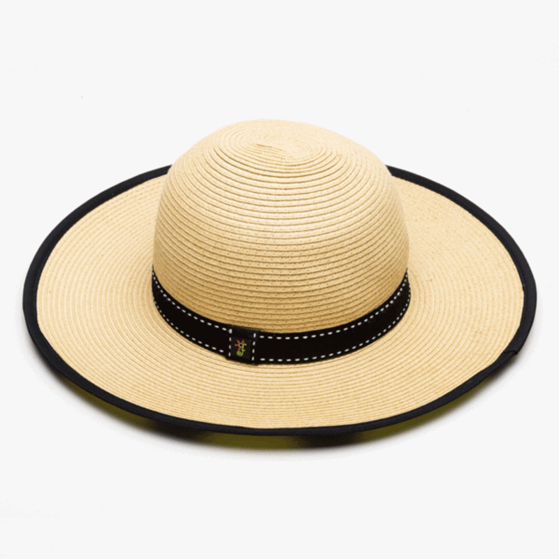 MH Hat - Garden Freak Brand -  The Flora Floppy Hat