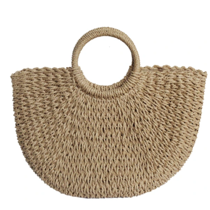 K. Carroll Tote - Sandy Straw - Two Colors