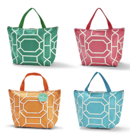 Tote - Chinoiserie Thermal - Four Colors