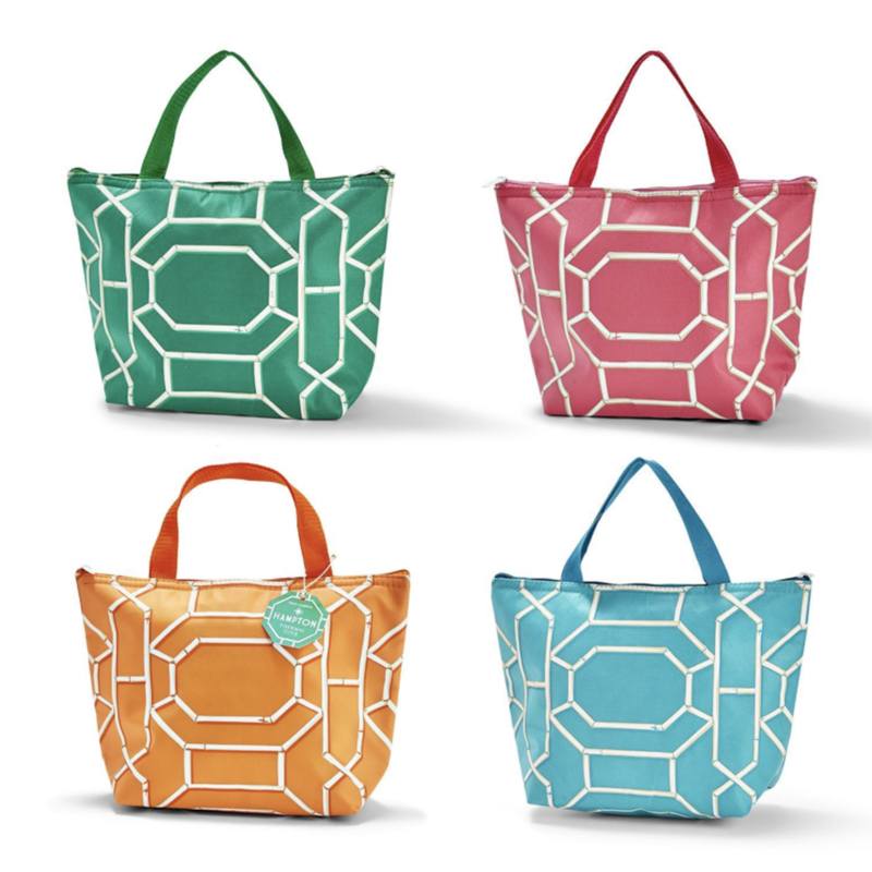 MH Tote - Chinoiserie Thermal - Four Colors