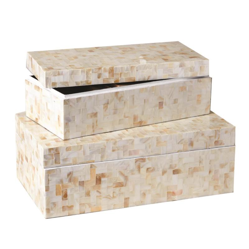 Two's Company Box - Herringbone -