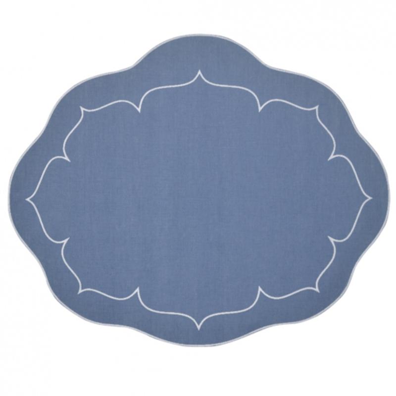 Skyros Designs Linho - Oval Mat - Linen