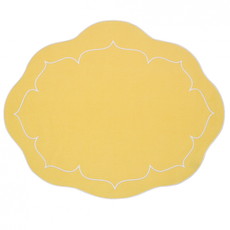Linho - Oval Mat - Linen