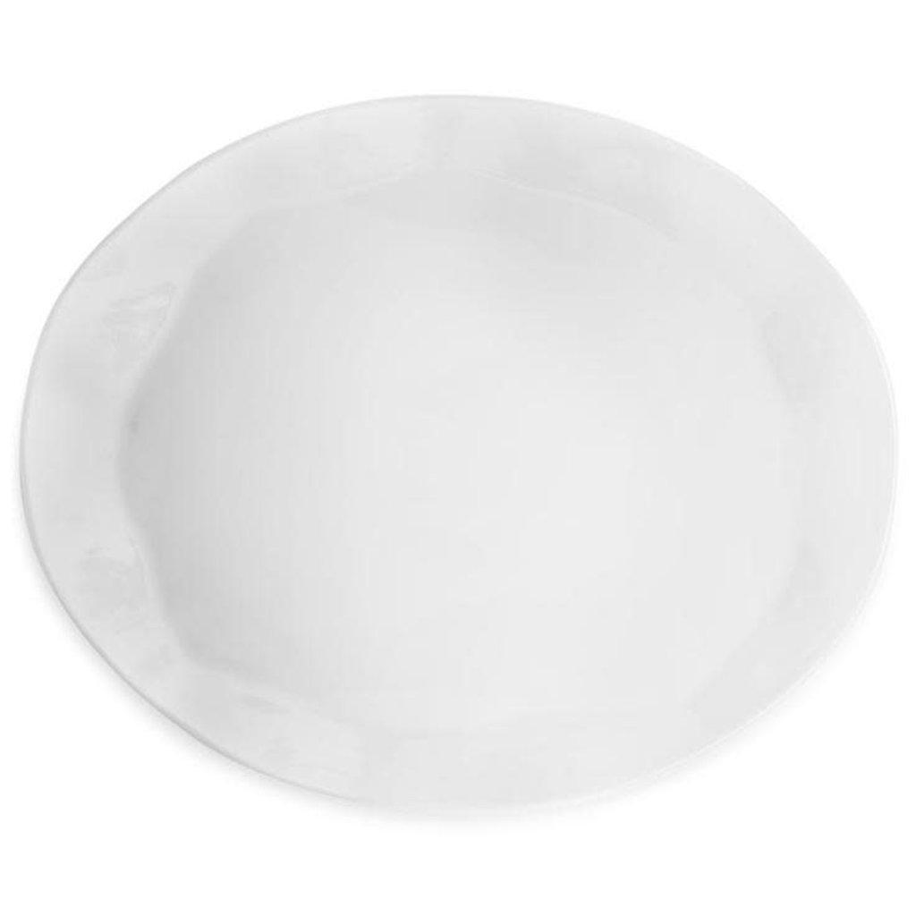 MH Melamine Ruffle Platters