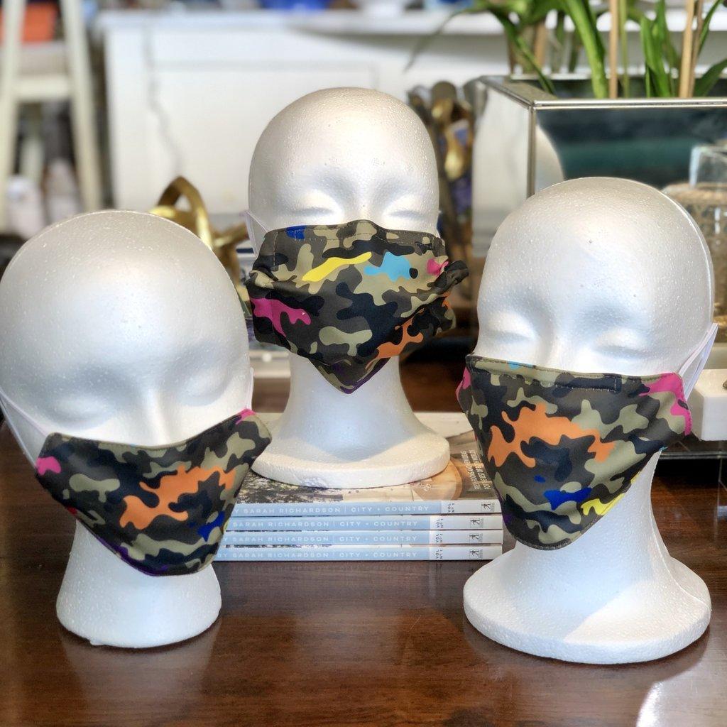 Face Mask - Camo - Adult, Kid, Toddler
