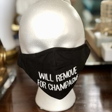 MH Face Mask - Will Remove for Champagne & More!