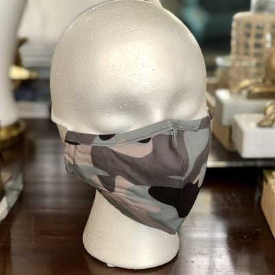 Face Mask - Camo, Dots, Tropical & More!
