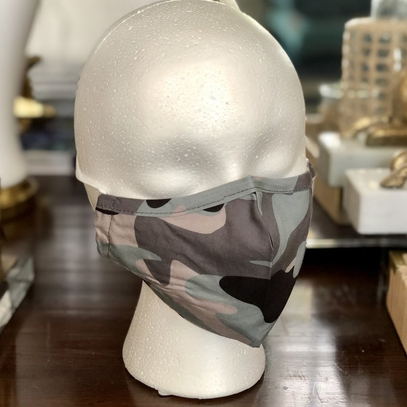 TopItOff Face Mask - Camo, Dots, Tropical & More!